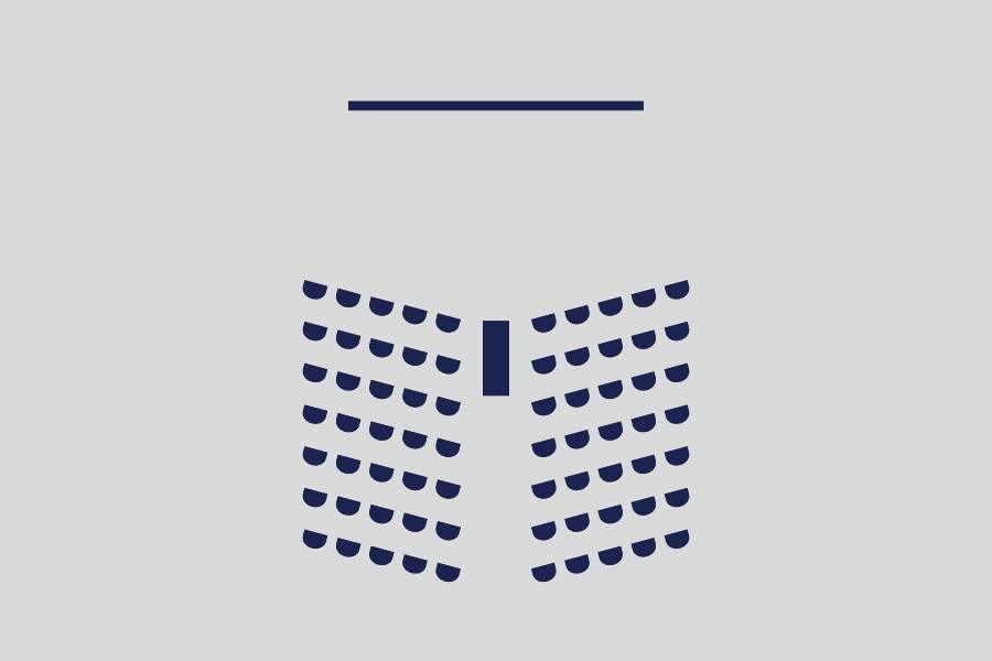影院式——约60人