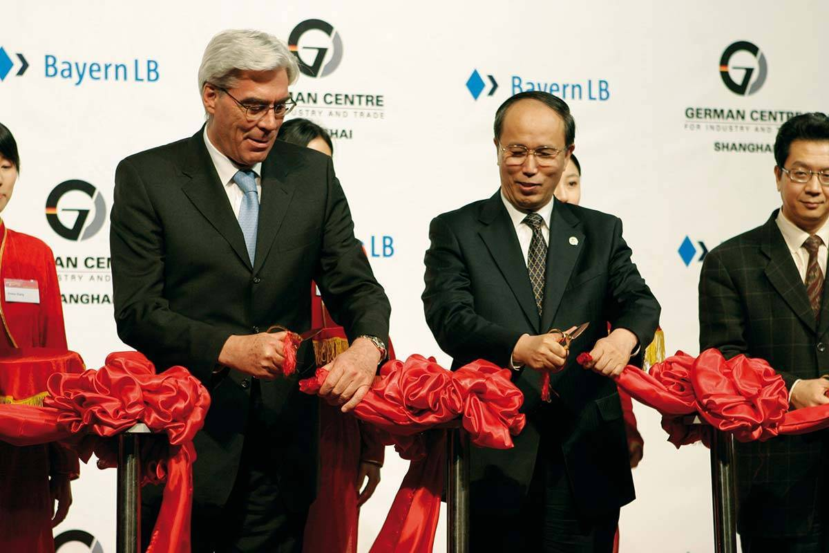 Grand Opening for German Centre Shanghai in Pudong