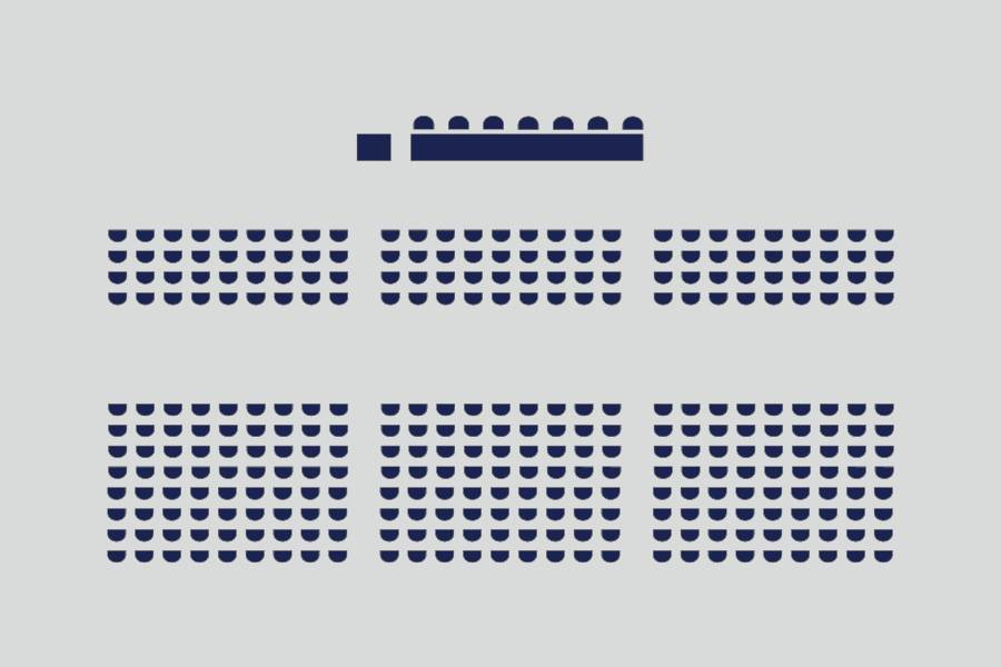 Theater - für rund 650 Personen