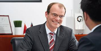 Press photos of Christian Sommer, CEO & Chairman
